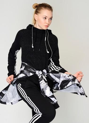adidas Kapüşonlu Polar Sweatshirt Siyah